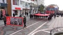 Edirne Atatürk'ün Edirne'ye Gelişinin 87'nci Yıl Dönümü Kutlandı