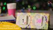 اعملي بنفسك نتيجة السنة الجديدة | DIY How to Make Calendar step by step