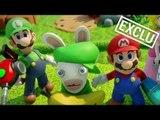 Mario + The Lapins Cretins : Les coulisses de cette collaboration !