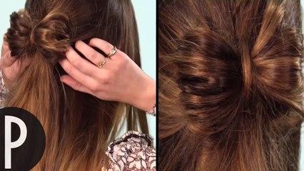 Tuto Coiffure: Noeud de Cheveux