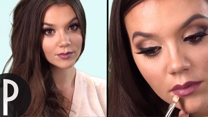 Tuto make up glam