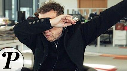 Julien Lepers lâche un DAB en pleine INTERVIEW !!