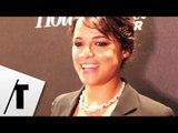 Michelle Rodriguez émue par Paul Walker - Soirée Swarovski