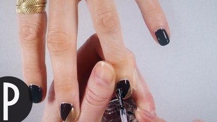Tuto: Nails demi dorée
