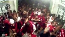 Las imágenes de los incidentes en la final de la Sudamericana