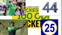 Hasan ali need how many wickets in odi matches to break fastest 100 wicket record of mitchell starc