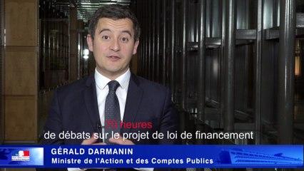 Vote du budget 2018, Gérald Darmanin - bilan et perspectives