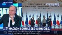 Emmanuel Macron souffle ses 40 bougies