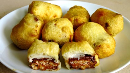 MINI FRIED SNICKERS BARS
