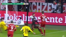 Bayern Munchen 2 vs 1 Borussia Dortmund Highlights and Goals 20 December 2017