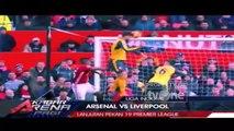 Jelang Laga Panas Arsenal vs Liverpool