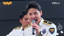 XIA(김준수) '놈의 마음 속으로' 성범죄 예방 콘서트 무대 (Into Him, Junsu, 경기남부경찰 홍보단, 시아준수)-LRWfhyAy7J4