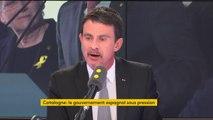 """#Catalogne """"Le projet indépendantiste est mort face à la réalité"""" pour Manuel Valls"""