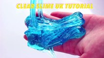How To Make Clear Slime In The UK! No Pure Borax British Slime Recipes and Slime Ingredients-dH2xsueXojo