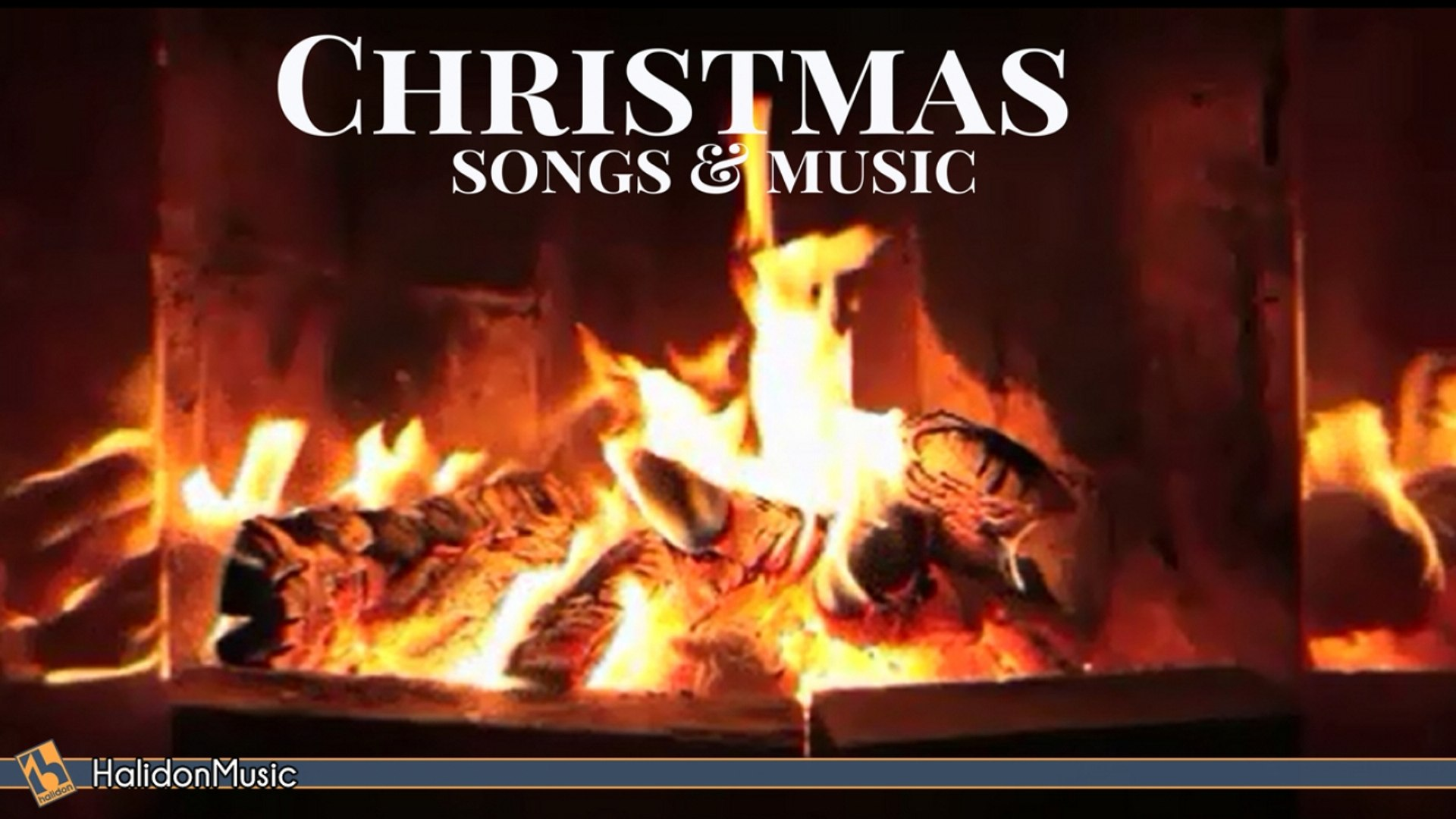 Fireplace With Christmas Music.Aa Vv The Best Christmas Songs Carols Instrumental And Classical Music Relaxing Fireplace