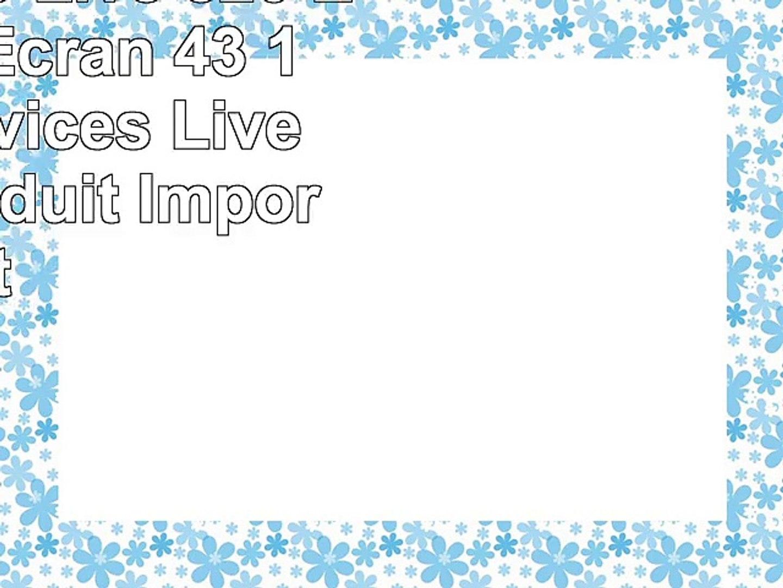 Tomtom  Go Live 820 Europe 45 Écran 43 1 An de Services Live Inclus Produit Import