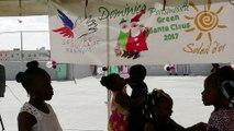 Urgence Ouragans. Le Père Noël vert n'oublie pas les sinistrés des ouragans aux Antilles