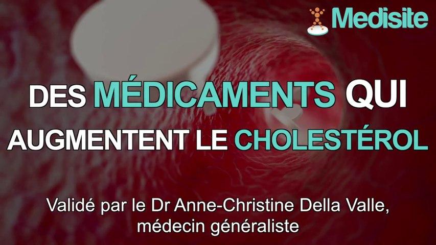 Top 3 des médicaments qui augmentent le cholestérol