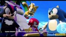 Sonic the Hedgehog vs LEGO Juniors Create & Cruise Full Lego Dimension Animated For Children HD!