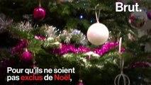 «Tout le monde a le droit à un Noël» : Valérie Trierweiler, engagée auprès des Pères Noël verts