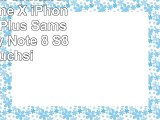 Lucrin  Étui ceinture pour iPhone X  iPhone 8 Plus  7 Plus  Samsung Galaxy Note 8  S8