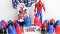 Spiderman Surprise Egg Superhero Videos Surprise Toys Spiderman Chocolate Egg Toy Videos , Cartoons animated movies 2018