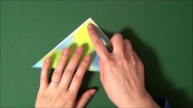 Origami 'carp' 折り紙 「鯉」折り方-Y6lee3r4SKg