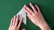 Origami 'Pigeon' 折り紙「鳩」の折り方-tliLTxpWvPI