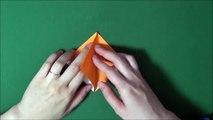 Origami 'Snail' 折り紙 「かたつむり」折り方-VxwFgCIAi2s
