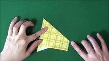 Origami'Six Star' 折り紙「六角星」折り方-hByQGHZE7GM