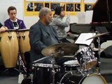 Drum solo by Wally Gator Watson of the Lionel Hampton Orchestra