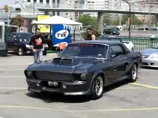Shelby mustang Eleanor burnout