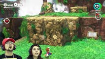 SUPER MARIO ODYSSEY  FGTEEV! DINOSAURS, FROGS & CHOMP CHAINS R BOSS! BEST VIDEO GAME EVER! (Pt. 1)
