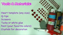 Recycling Art and Crafts Ideas - DIY Valentine's Day Gift from Q-Tips _ Recycled Bottles Crafts-L0EslDM_pZo