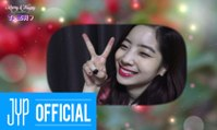 "TWICE(트와이스) ""Merry & Happy"" M/V 선물 BEHIND"