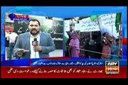 Karachi: MQM stage protest outside Press Club