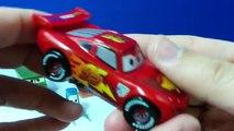6 Disney Pixar Cars Pit Crew Figurine Playset - Lightning McQueen Sarge Luigi , Cartoons animated movies 2018