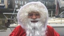Le Père Noël est arrivé en bateau