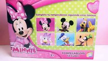 Minnie Mouse Cubes Make Mickey Mouse Face Minnie Blocks Minnie Puzzle Minnie Mouse Bowtique Toys , Cartoons animated movies 2018