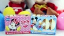 Minnie Mouse Huevos Sorpresa Mickey Mouse Surprise Eggs Disney Überraschung Eier Spielzeug Toys , Cartoons animated movies 2018