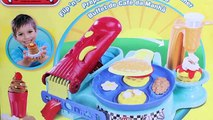 Play Doh Flip 'n Serve Breakfast Waffles Pancakes Bacon Smoothies Play-Doh Breakfast Time Set , Cartoons animated movies 2018