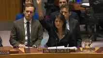 الفيتو الأميركي يحبط مشروع قرار عربيا بشأن القدس
