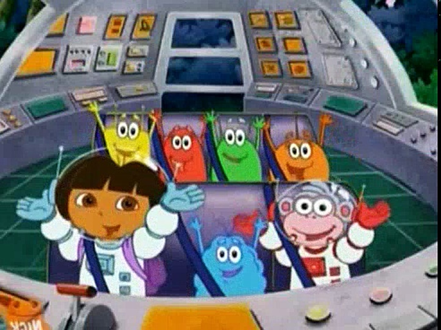 Dora The Explorer 306 - Journey to the Purple Planet