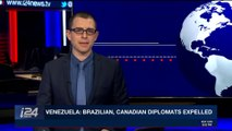 i24NEWS DESK  | Venezuela: Brazilian, Canadian diplomats expelled | Saturday, December 23rd 2017