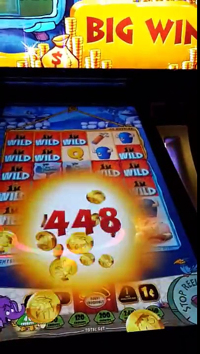The Flintstones Slot Machine Big Win in Hard Rock Casino Fort Lauderdale *please like and subscribe