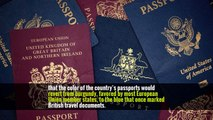 Feeling Blue (and Feeling Good): U.K. Picks a Post-Brexit Passport Color