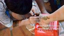 henna tattoo# A dream catcher Henna Tattoo at the Henna Tattoo angkor at the siem reap Cambodia-1aptkNIHt9E