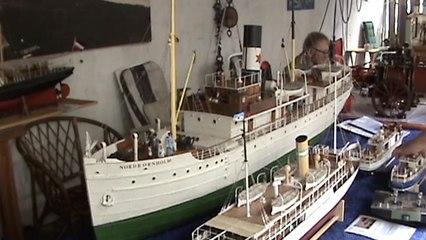 Dampf-Sternmotor, Steam Radial Engine, Modelldampfmaschinen und Schiffsmodelle Dampfrundum Flensburg 08.07.17