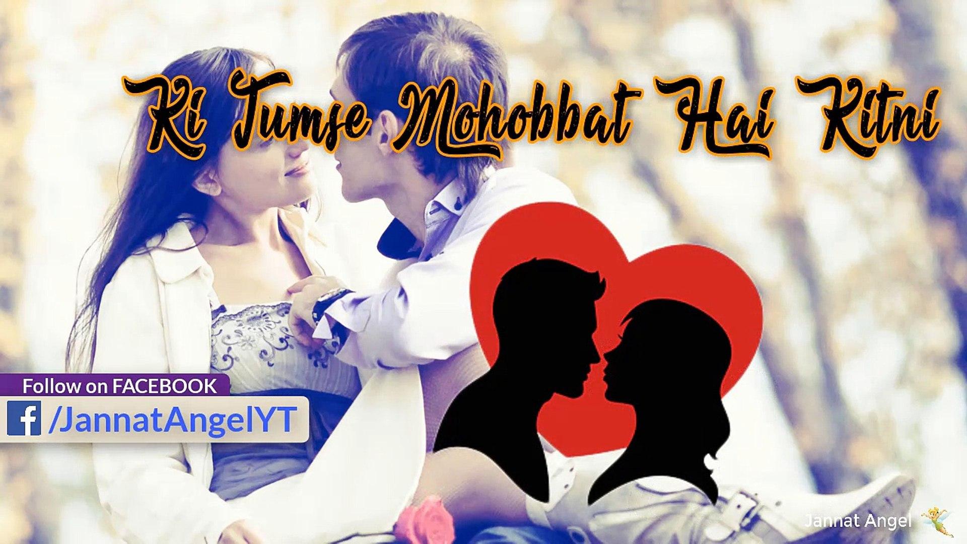Kitni Mohobbat Hai Tumse | Latetst Whatsapp Status Video | Romantic Poem | Love Poem | Jannat Angel