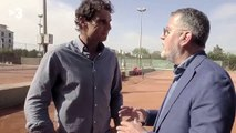 Rafael Nadal Interview in the documentary about Toni Nadal (Esport3)